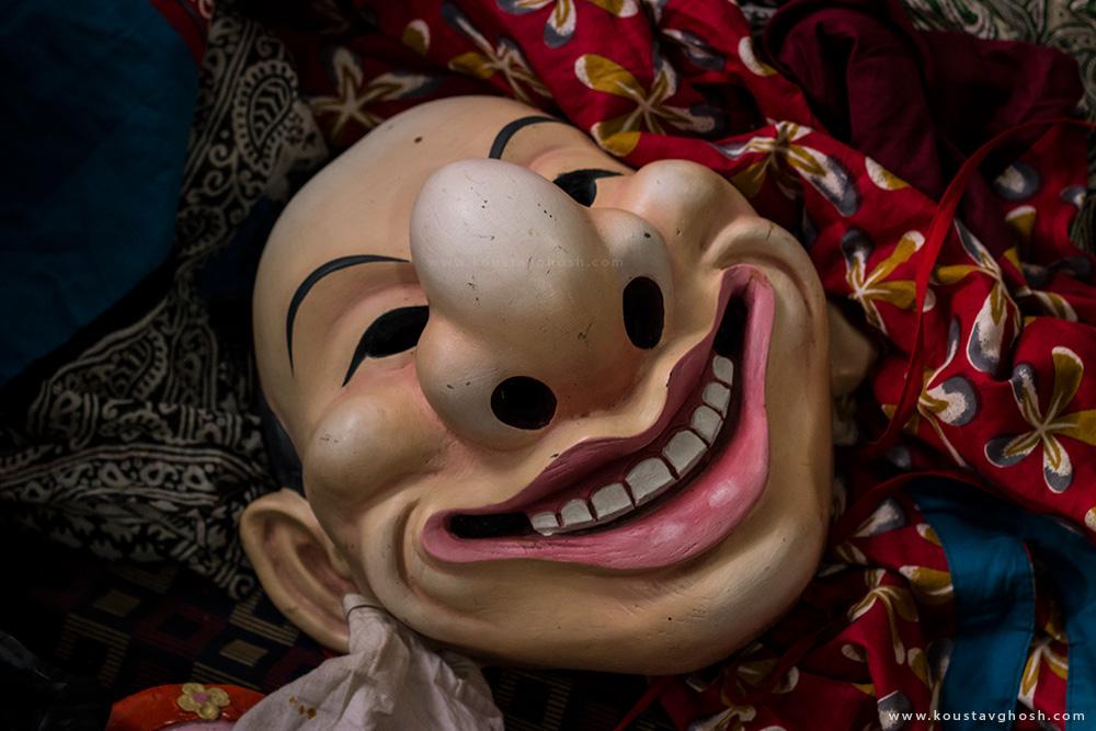 Joker Mask used in Kagyed Festival
