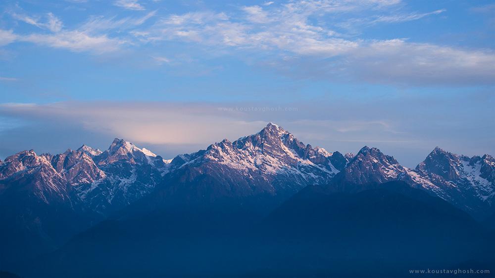 Kanchenjunga Peak from Ravangla